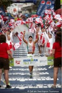 Gewinner beim Ironman 70.3 Zell am See