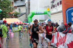 Läufer auf den letzten Metern