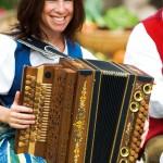 Musikalische Umrahmung beim Bauernherbst