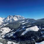 Verschneites Bergpanorama rund um Maria Alm