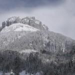 Der beliebte Berg Loser im Winter