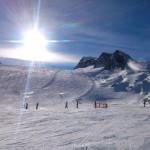 Bestens präparierte Pisten am Kitzsteinhorn