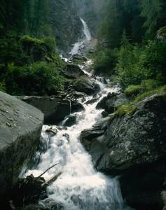 Wildbach im Umbaltal