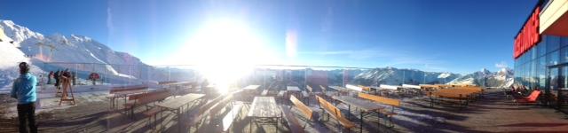 Panorama auf der Terrasse