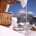 Ausblick aus den Ferienhäusern in Altaussee