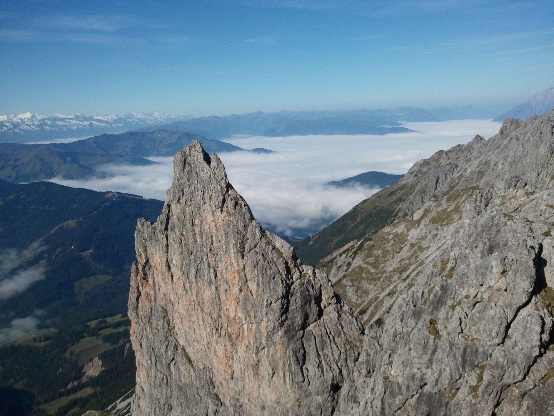 Klettersteig Königsjodler : Klettersteig u akönigsjodler am hochkönig alpenparks