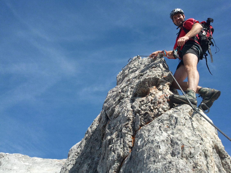 Klettersteig Hochkönig : Klettersteig u201akönigsjodler am hochkönig u2013 alpenparks blog