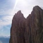 Aussicht beim Klettern am Hochkönig