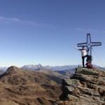 Gipfelfoto am Tristkogel