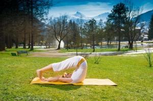 Yoga im Kurpar im Gasteinertal