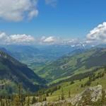 Blick über das Tal, Foto: Sabine Hechenberger