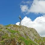 Gipfelkreuz Sonnspitz, Foto: Sabine Hechenberger