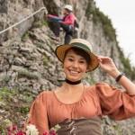 Eröffnung des Klettersteigs 'Sophie'