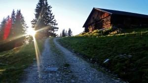 Am Weg zur Schwalbenwand, Foto: Sabine Hechenberger