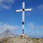 Gipfelkreuz Messelingkogel, Foto: Sabine Hechenberger