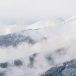 Tiefverschneite Landschaft im SalzburgerLand