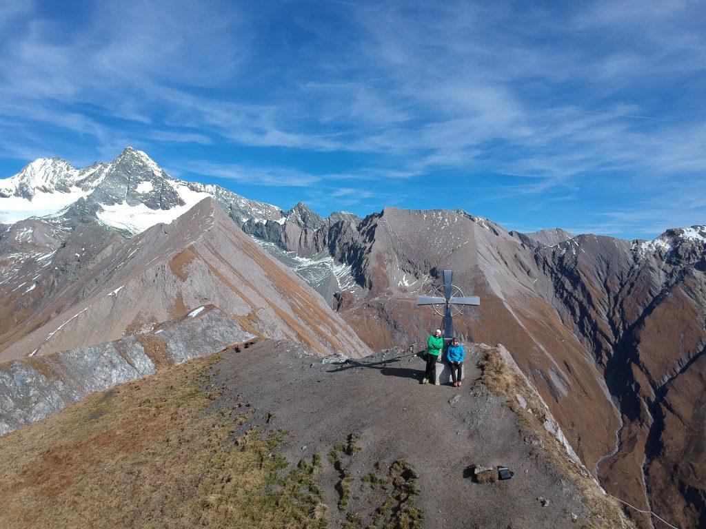 Gipfelfoto am Figerhorn, Foto: Sabine Hechenberger