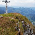 Gipfelkreuz von hinten, Foto: Sabine Hechenberger