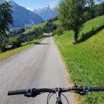 Retour geht es wieder mit dem Bike, Foto: Sabine Hechenberger