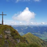 Gipfelkreuz mit grandiosem Panorama, Foto: Sabine Hechenberger