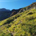 Tolle Ausblicke während dem Aufstieg, Foto: Sabine Hechenberger