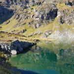 Oben angekommen beim Löbbensee in Osttirol, Foto: Sabine Hechenberger