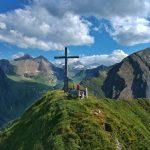 Gipfelkreuz Gämskragen, Foto: Sabine Hechenberger