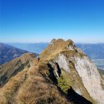 "Am Weg zum letzten Gipfel ""Stolzkopf"", Foto: Sabine Hechenberger"