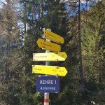 """Wir folgen immer dem """"Jetzbachastensteig"""", Foto: Sabine Hechenberger"""