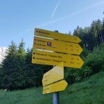 Hier zweigt der Weg zum Lettlkaser rechts ab, Foto: Sabine Hechenberger