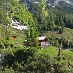 Die Lettlkaser Hütte von unten, Foto: Sabine Hechenberger