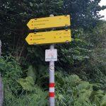 Wanderschild beim Kitzsteinhorn Parkplatz, Foto: Sabine Hechenberger