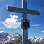 Imbachorn Gipfelkreuz, Foto: Sabine Hechenberger