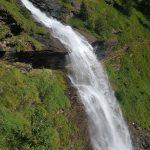 Schleier-Wasserfall in Fusch an der Großglocknerstraße,  Foto: Sabine Hechenberger
