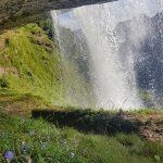 Beeindruckende Momente direkt unter dem Wasserfall in Fusch,  Foto: Sabine Hechenberger