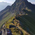 Gratwanderung zum Gipfel, Foto: Sabine Hechenberger