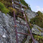 Leiter hoch zum Gipfel, Foto: Sabine Hechenberger