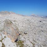 Ausblick vom Schönegg Gipfel auf das Riemannshaus und Sommerstein, Foto: Sabine Hechenberger