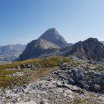 Ausblicke vom Schönegg Gipfel Richtung Schönfeldspitze, Foto: Sabine Hechenberger