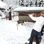 Das Tontaubenschießen ist auch im Winter möglich, Foto: event concept GmbH