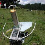 Wurfmaschine für das Tontaubenschießen, Foto: event concept GmbH