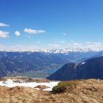 Grandiose Ausblicke bis nach Zell am See, Foto: Sabine Hechenberger