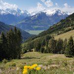 Atemberaubende Ausblicke auf den Maiskogel und Kitzsteinhorn, Foto: Sabine Hechenberger