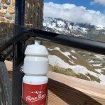 Immer mit dabei: die AlpenParks Radflasche
