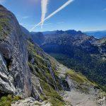 Kurz vorm Gipfelkreuz Seehorn, Foto: Sabine Hechenberger