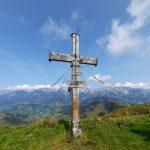 Gipfelkreuz am Hochkaser, Foto: Sabine Hechenberger
