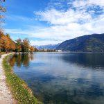 Spazierweg Richtung Stadt Zell am See, Foto: Sabine Hechenberger