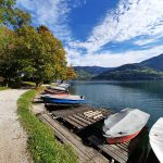 Boote am Seeufer in Zell am See, Foto: Sabine Hechenberger