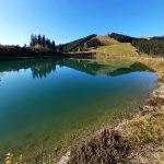 Brunnermais Teich in Zell am See, Foto: Sabine Hechenberger