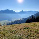Blick auf den Gletscher Kitzsteinhorn, Foto: Sabine Hechenberger